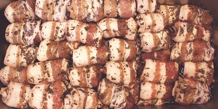 Herb Pork Strips from Korean Fusion BBQ (Dunlop Street) in Jalan Besar, Singapore