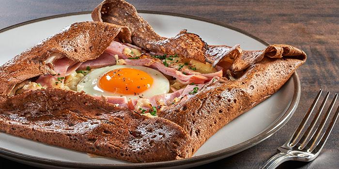 Gluten Free Savoury Buckwheat Crepe from La Brasserie in Fullerton Bay Hotel, Singapore