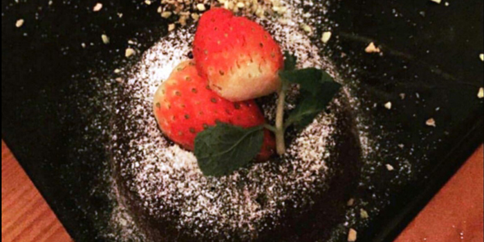 Molten Lava Cake from Fu Lin Bar & Kitchen at Telok Ayer in Raffles Place, Singapore