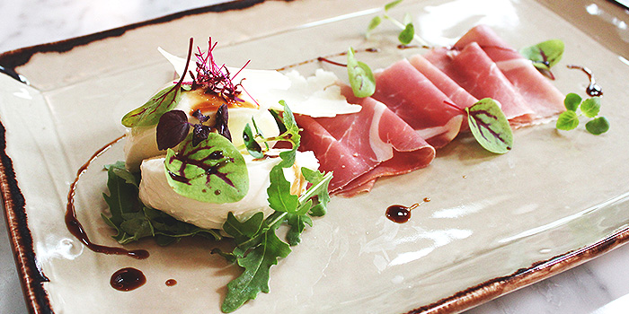 Mozzarella from Grissini at Grand Copthorne Waterfront Hotel in Robertson Quay, Singapore