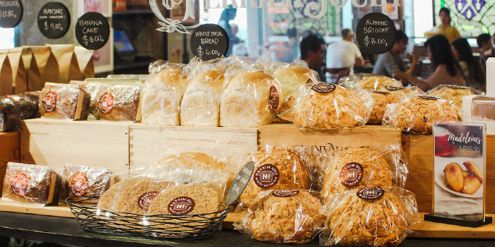 Bread Counter of Nassim Hill Bakery Bistro Bar at Tanglin Post Office in Tanglin, Singapore