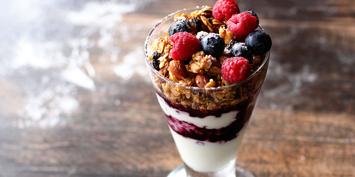 Granola Parfait from Nassim Hill Bakery Bistro Bar at Tanglin Post Office in Tanglin, Singapore