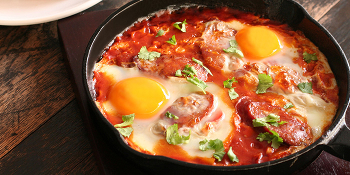 Skillet Eggs from Nassim Hill Bakery Bistro Bar at Tanglin Post Office in Tanglin, Singapore