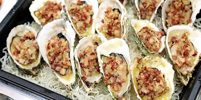 Baked Oyster with Bacon & Onion, The Gazebo Restaurant, Wan Chai, Hong Kong