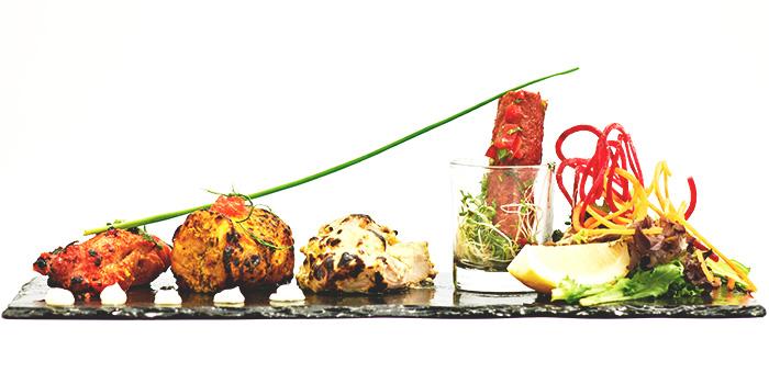 Non-Veg Kabab Platter from Punjab Grill at Marina Bay Sands in Marina Bay, Singapore