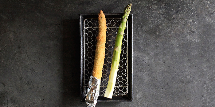 Asparagus from Panko in Bugis, Singapore