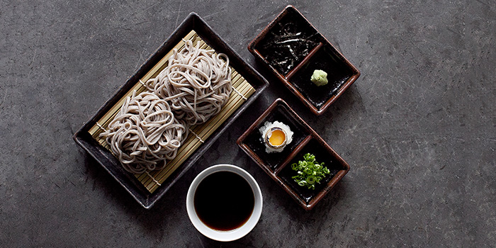 Soba Set from Panko in Bugis, Singapore