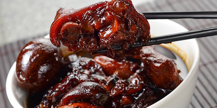 Pork Knuckles and Ginger Stew, The Gazebo Restaurant, Wan Chai, Hong Kong