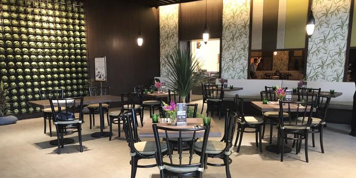 Restaurant Atmosphere of CAFE NINE Jim Thompson Phuket in Patong, Phuket, Thailand.