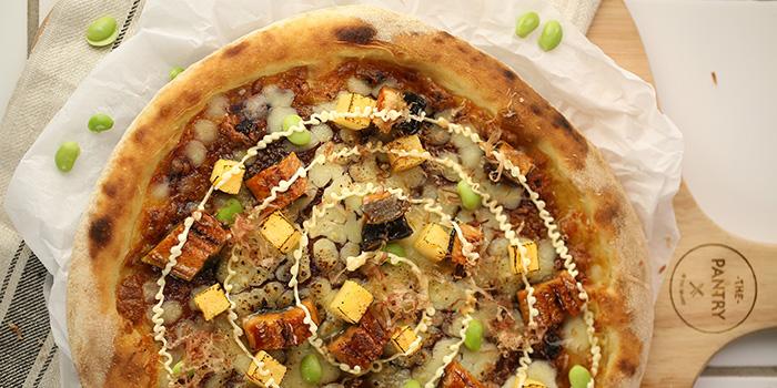 Roast Eel Pizza, The Pantry, Tsim Sha Tsui, Hong Kong