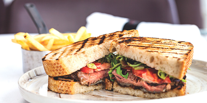 Beef Sandwich from Salt Grill & Sky Bar at Ion Orchard, Singapore