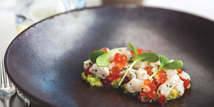 Hokkaido Scallop Ceviche from Salt Grill & Sky Bar at Ion Orchard, Singapore