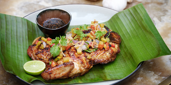 Samble Chicken from the Courtyard at The House on Sathorn, Bangkok