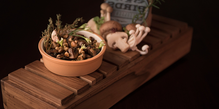 Sauteed Mushroom from BIRDS Rotisserie on Soi Amon, Nang Linchi Rd, Bangkok