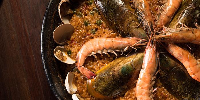 Seafood Paella, OM Tapas, Tsim Sha Tsui, Hong Kong