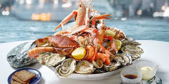 Seafood Platter, Rech by Alain Ducasse, Tsim Sha Tsui, Hong Kong
