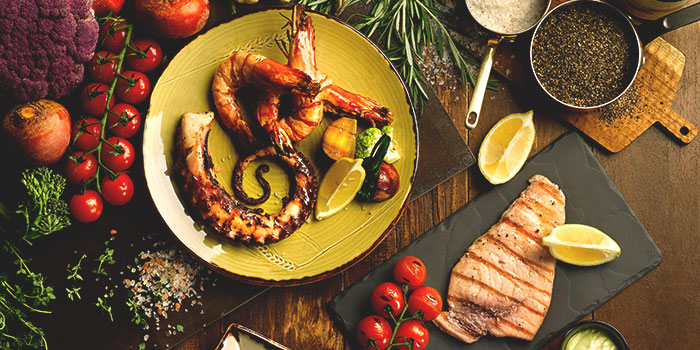 Signature Josper Grilled Meats and Seafood from Grissini at Grand Copthorne Waterfront Hotel in Robertson Quay, Singapore