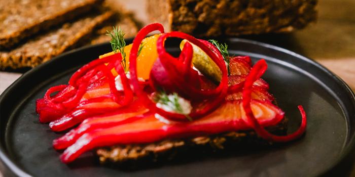 Smoked Salmon from Magpie BKK at Onnut Road, Bangkok