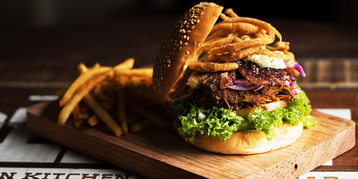 3P Burger from The Beast in Bugis, Singapore
