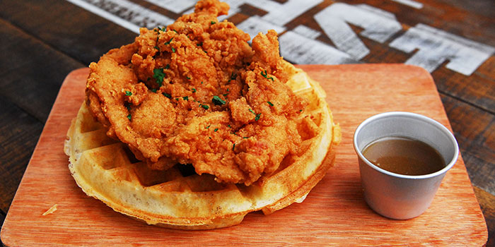 Chicken and Waffles from The Beast in Bugis, Singapore