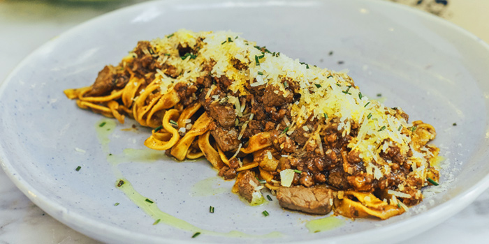Tortelloni Bolognese from La Dotta Pasta Bar & Store