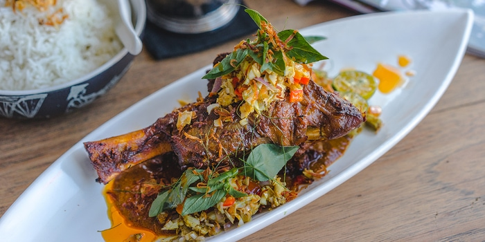 Lamb Shank at Tiger Palm, Bali