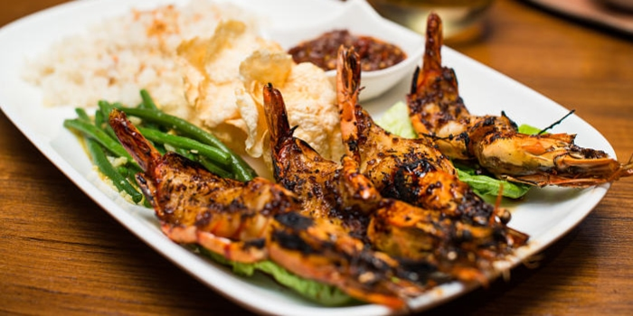Grilled King Prawn at Cork & Screw Pacific Place, Jakarta