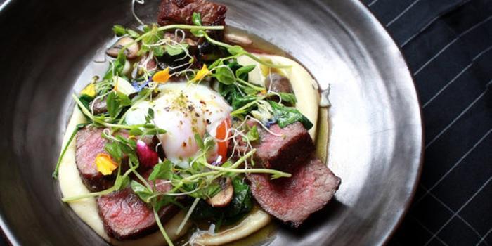 Steak & Egg at Maple & Oak