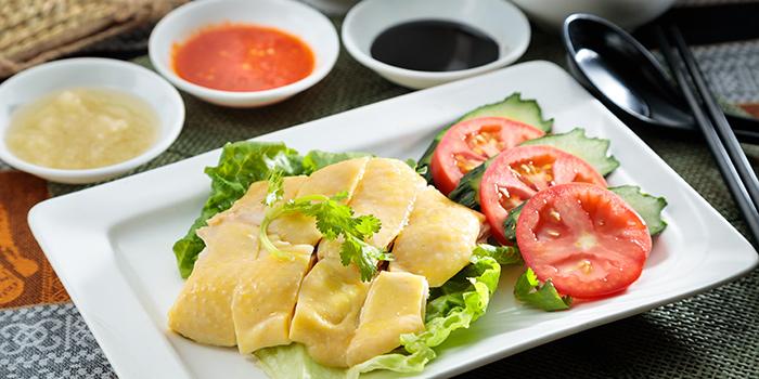 Hainanese Chicken Rice, The Gazebo Restaurant, Wan Chai, Hong Kong