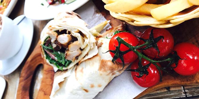 Wrap from Miska Cafe (Sentosa) in Sentosa, Singapore
