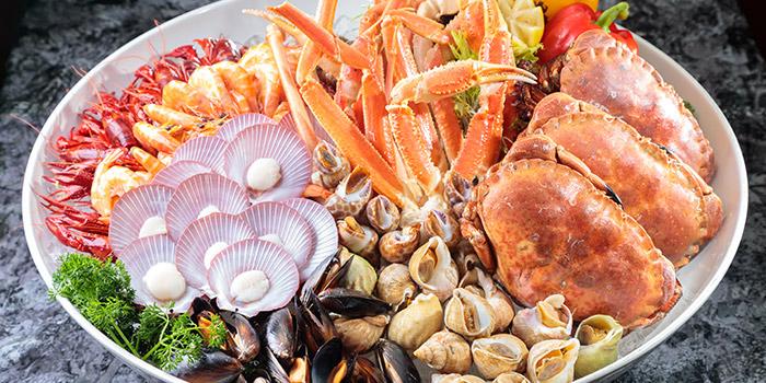 Seafood Platter, The Gazebo Restaurant, Wan Chai, Hong Kong