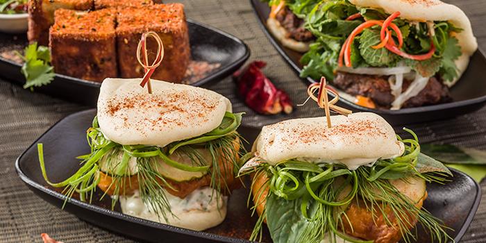 Fish fillet & Portobelle Bao and Silken tofu, Soho Spice, Central, Hong Kong