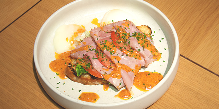 Eggs Benedict from 63Celsius (Paragon) in Orchard Road, Singapore