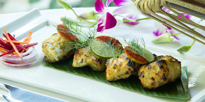 Ajwaini Fish Tika from Indus Contemporary Indian Dining in Upper Sukhumvit, Bangkok