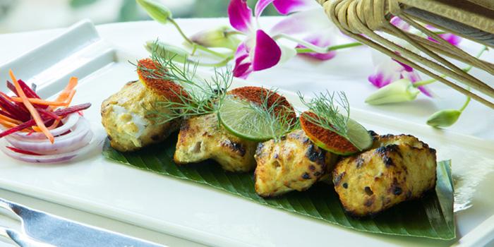 Ajwaini Fish Tika from Indus Contemporary Indian Dining in Upper Sukhumvit, Bangkok