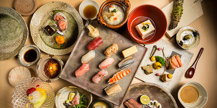 Assorted Sashimi, Shinji by Kanesaka, Coloane-Taipa, Macau