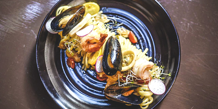 Seafood Linguine from Barzaco at Robertson Blue in Robertson Quay, Singapore