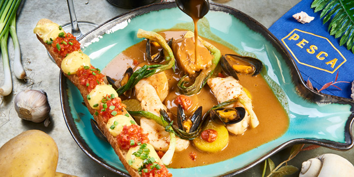 Bouillabaisse from Pesca Mar & Terra Bistro at Ekkamai 12 Alley, Wattana, Bangkok
