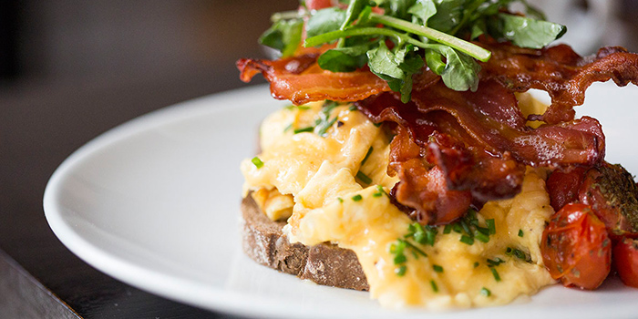 Soft Scrambled Eggs from Club Street Social in Gemmill Lane, Singapore