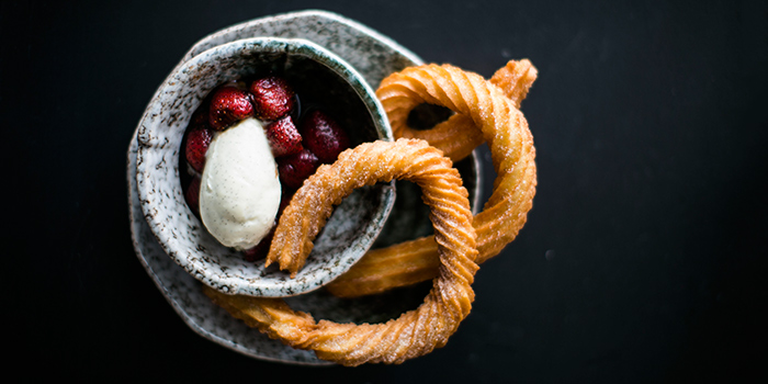 Churros from Club Street Social in Gemmill Lane, Singapore