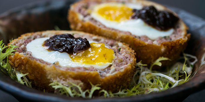 Scotch Eggs from Club Street Social in Gemmill Lane, Singapore