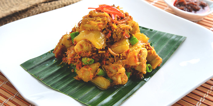 Balinese Vegetable and Chicken Salad from Chef Wan