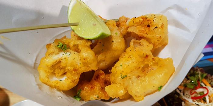 Calamari from KUTAI Mussels Restaurant & Bar at Soi Suanplu,Thungmahamek, Sathorn, Bangkok