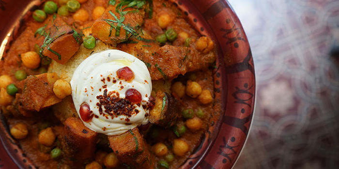 Classic Seven Vegetable Tagine with cous cous, OLIVE Greek & Middle Eastern, Soho, Central, Hong Kong
