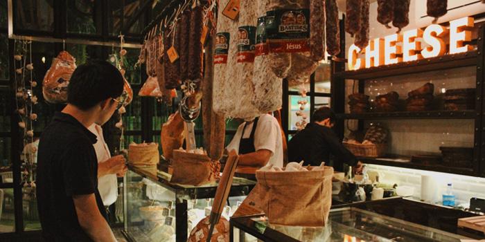 Cold Cut Corner of  Pesca Mar & Terra Bistro at Ekkamai 12 Alley, Wattana, Bangkok