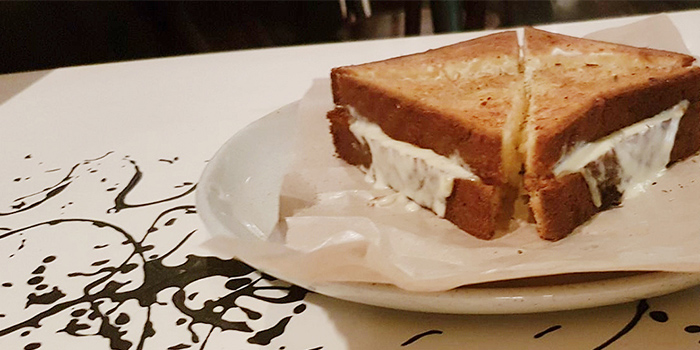 Comte Toastie from bistro November in Keong Saik, Singapore