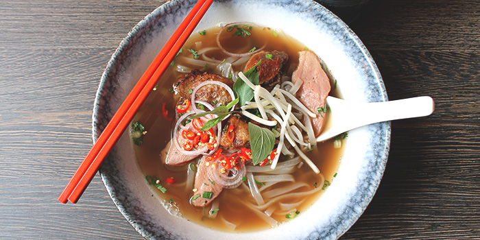 Duck Pho from Fat Saigon Boy in Chinatown, Singapore