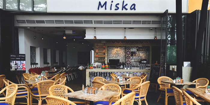Exterior from Miska Cafe (Sentosa) in Sentosa, Singapore