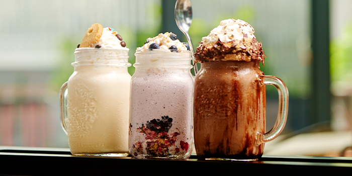 Supersized Shakes from Grains & Hops at YOTEL Singapore in Orchard, Singapore