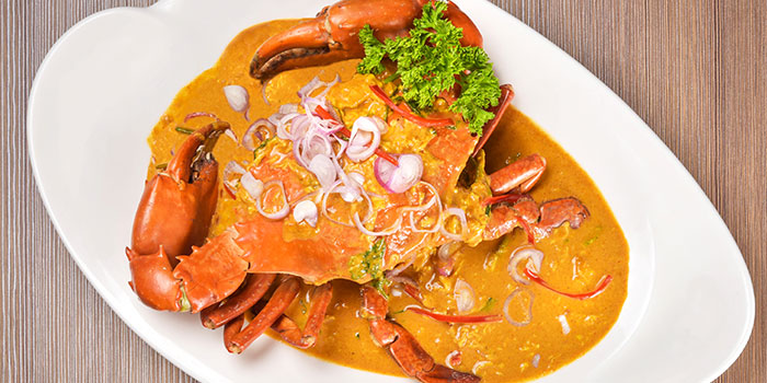 Chili Crab from Ginger Thai in Orchard, Singapore